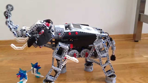Life Skills builds Elephant Robot